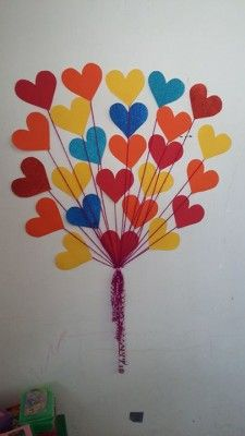 Decoracion dia del amor y dela amistad (11) Diy And Crafts, Crafts For Kids, Arts And Crafts, Paper Crafts, Valentine Decorations, Valentine Crafts, Valentines, Art Activities For Toddlers, Valentine Day Love