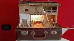 Presepe in valigia #christmas #nativity #presepe #reuse #repurpose #newlife #presepio #suitcase #natale #diy
