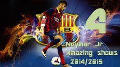 Neymar New Skills○Amazing Shows part❹Season 2014/15