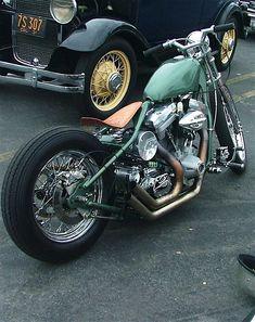 Harley-Davidson Evolution rigid