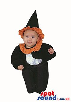$$  Cute Halloween Witch Baby Child Size Costume Disguise