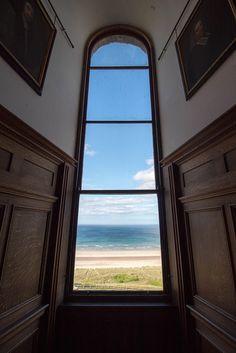 Northumberland   by Emma Greveson Castle, England, Windows, Beach, The Beach, Castles, Beaches, English, British