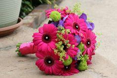 Orchid Wedding | Gerberas and Vanda Orchids Bouquet wedding flowers