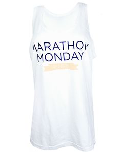 Marathon Monday Tank by Adam Block Design | Custom Greek Apparel & Sorority Clothes | www.adamblockdesign.com