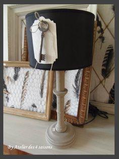 LAMPE CLEF PAR L' atelierdes4saisons