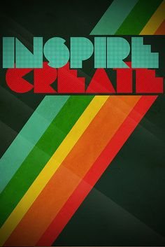 Retro Rainbow Inspiration