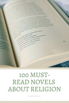 100 must-read novels about religion -- fiction about faith and belief.