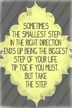 Maybe one day I'll muster the courage to take that step...