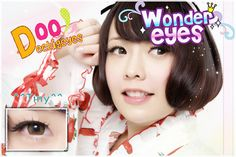 Coloured contact lenses Bigeye Natural Tones Tiny contact lenses bigeye Tiny_Brown Code: Tiny_Brown Brand: Sweety/Barbie Model: Tiny_Brown Soft Contact Lens Duration : 1 year Diameter(mm) : dia 14.5 Base Curve(mm) : B.c 8.60 Effect 16.0 Water content 38% Expire : 5 Years Manufactured b...