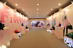 Five Plus - launch trade show W2009 on Behance