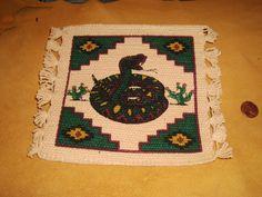 Hand-Woven SW Design Cotton Coasters #2