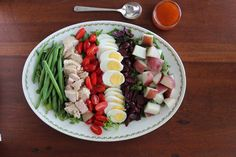 Self-Serve Salad Bar for a Festive Group Meal #client #IBS #FODMAP #lowfodmap