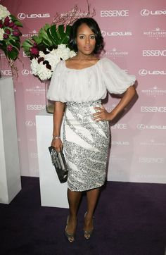 Kerry Washington Photo - First Annual Essence Black Women In Hollywood Luncheon - Arrivals (2008)