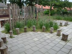 groen schoolplein Kids Outdoor Play, Outdoor Learning, Outside Playground, Growing Gardens, Outdoor Education, Modern Garden Design, School Decorations, Summer Garden, Garden Inspiration