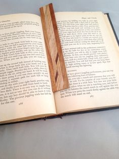 Wooden bookmark 1 by KevinWilliamson on Etsy, $10.00