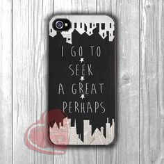 Paper Town Quote Black and White -fun3 for iPhone 6S case, iPhone 5s case, iPhone 6 case, iPhone 4S, Samsung S6 Edge