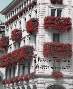 Balconi Fioriti Spettacolari! http://i-live-in-tuscany.blogspot.it/2014/04/balcone-fiori-lugano-gerani.html