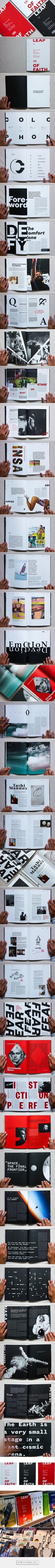 Leap of Faith – Magazine by Umer Ahmed