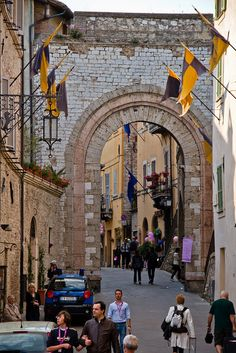 One of my very favorite places ~ Assisi, province of Perugia, Umbria region, Italy