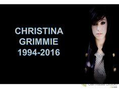 Luto en la Musica y YouTube - Christina Grimmie