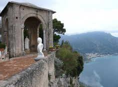 Ravello, Italy - villa Cimbrone