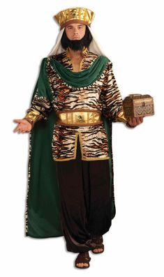 XL Boys Relligious Christma Nativity Fancy Dress Sheperd Kids Joseph Costume S