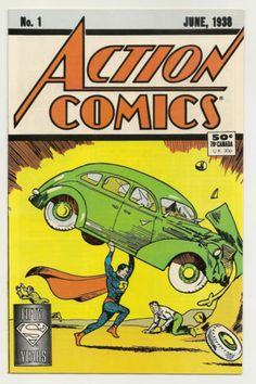 My mom would love this.  Action-Comics-1-NM-DC-Comics-1988-Reprints-1st-Superman-June-1938