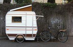 cute tiny caravan...love it.