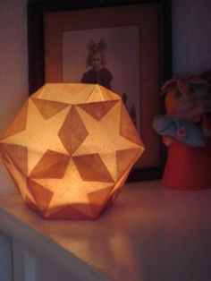Gerade Kanten (keine Sternform), Öffnung oben an Lampenfassung anpassen