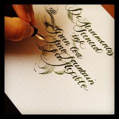 De Atramentis Scented Green Tea Ink