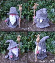 Gandalf the Gray pdf crochet pattern. €2.50, via Etsy.