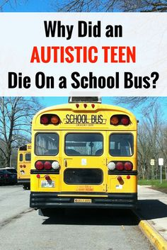 Autistic teen dies on school bus after seizure: Family sues years later