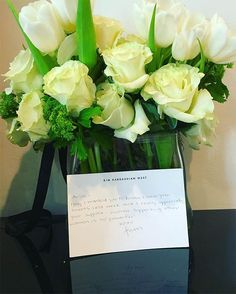"""Ariel Winter's Instagram post of her thank you flowers from Kim Kardashian that she captioned, """"""""Women supporting other women is so powerful.""""-Mrs. West ❤️ps. I gotchu @kimkardashian always xo"""" — posted on March 17, 2016"""