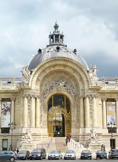 ARCHITECTURE – paris, france petit palais entry on ave winston churchill. French Architecture, Historical Architecture, Beautiful Architecture, Beautiful Buildings, Beautiful Paris, Paris Love, Paris Travel, France Travel, Paris France