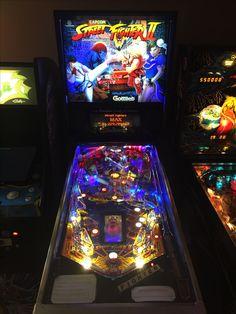 Gottlieb Street Fighter II Pinball restoration.