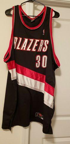 eBay  Sponsored Nike nba authentic jersey Rasheed Wallace  30 Black  Portland Trailblazers SZ 60 532b8d2a9