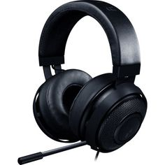 Razer - Kraken Pro Wired Stereo Gaming Headset for PC, Mac, Xbox One, Mobile Devices - Black Kraken, Best Headphones With Mic, Headphone With Mic, Best Gaming Headset, Gaming Headphones, Ear Headphones, Gaming Computer, Bass, Gaming Headset