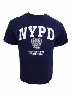 NYPD Shirt Size M Medium New York City Police Department NY  #unknown #GraphicTee