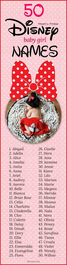 #babynames : Are you a Disney fanatic? Do you still spend every weekend watching Disney movies? If yes, then why don't you take your love to an entirely different level by naming your little girl after a Disney character? Great idea, right? #names #babynames #disney