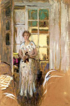 Edouard Vuillard (1868-1940), Thérèse Dorny,1933.