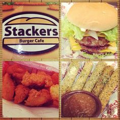 The Extra Massive, Shakers and Fried Mozzarella Sticks from Stackers