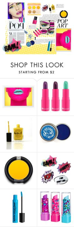 """Pop Art- Colorful set"" by biancaborlenghi ❤ liked on Polyvore featuring beauty, West Elm, BHCosmetics, Lauren B. Beauty, NARS Cosmetics, Sugarpill and Glitter Injections"