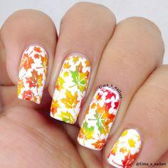 Uma's Nail Art: HPB Presents Autumn/Fall Nails..