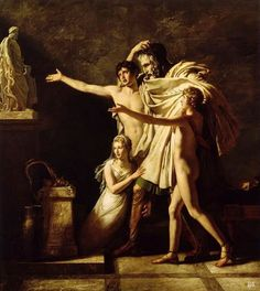 The Offering to Asclepius.   1803, Pierre Narcisse Guerin, French, 1774-1833, oil on canvas.