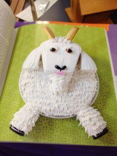 Goofy Goat Cupcake Tutorial | Cake Decorating Ideas ...