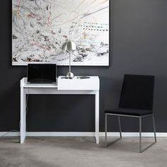 Hidden laptop table - white - A2