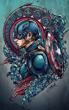 Team iron vs team cap project on behance art comic zeichnungen, comic kunst Marvel Comics, Bd Comics, Marvel Heroes, Marvel 3, Steve Rogers, Comic Kunst, Comic Art, Comic Book, Foto T Shirt