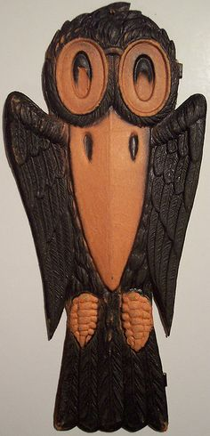 Vintage German Halloween Diecut Crow