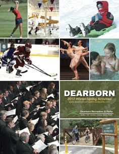 We're excited to announce that the new Dearborn Recreation & Parks Winter-Spring brochure is now online. Read about all of the activities planned for the Ford Community & Performing Arts Center, Dearborn Ice Skating Center, Dearborn Hills Golf Course, Mystic Creek Golf Course and Camp Dearborn. Go to http://dearbornfordcenter.com/images/schedules/recbrochure.pdf