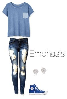 Emphasis by explorer-14571193261 on Polyvore featuring polyvore, fashion, style, MANGO, Converse, River Island and clothing